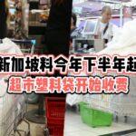 料今年下半年起 · 新加坡超市塑料袋开始统一收费 · 养成习惯自备环保袋吧!